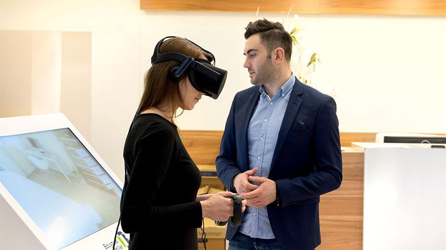Aplikacja virtual reality