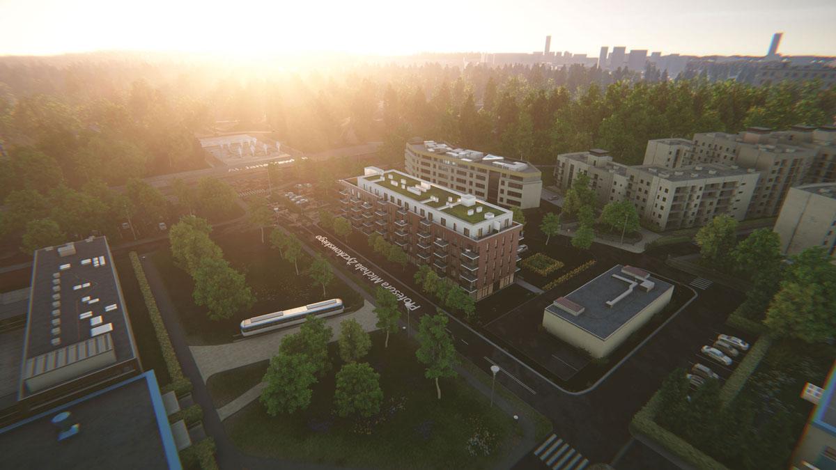 Wirtualna makieta zmiana pory dnia