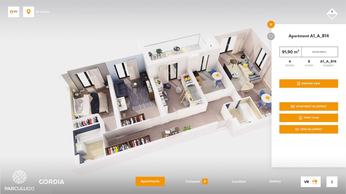 Mieszkanie 3D